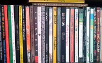 Półka z płytami Piotrka