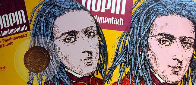 Chopin na 5 kontynentach (okł+CD)
