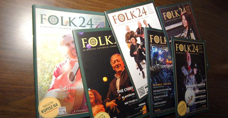 Okładki Magazynów Folk24