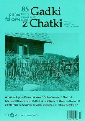 """Pismo folkowe """"Gadki z Chatki"""" nr 85"""