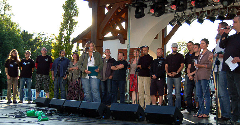 XV Festiwal Piosenki Żeglarskiej w Charzykowach