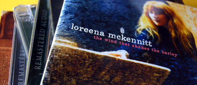 Okładki płyt Loreeny McKennitt