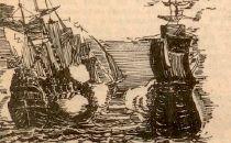 Bitwa morska grafika