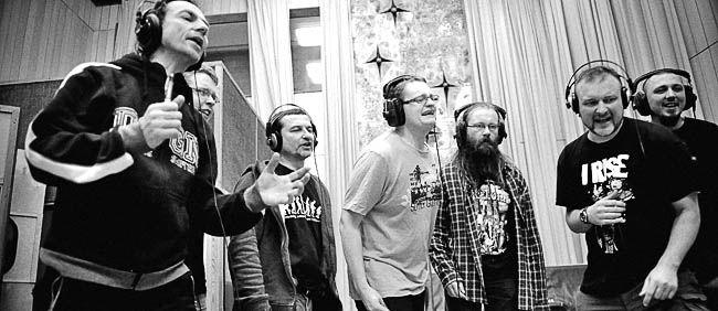 R.U.T.A. podczas nagrań