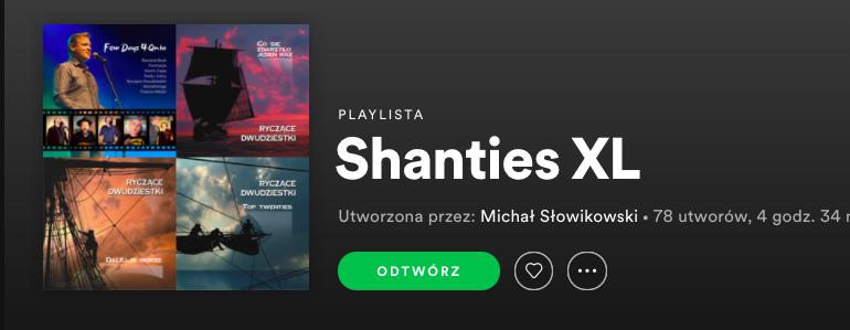 Playlista Shanties XL