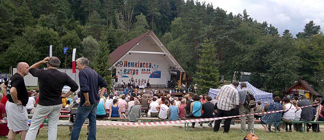 Łemkowska Watra 2011