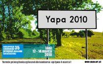 Plakat Yapa 2010
