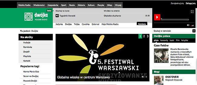 Nowa witryna Polskiego Radia